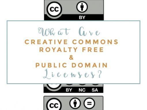 Creative Commons, Royalty Free, & Public Domain Licenses